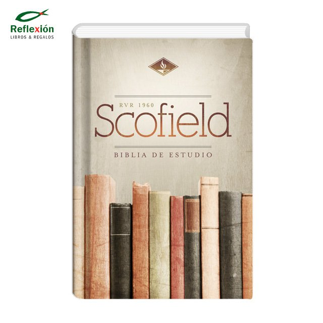 BIBLIA DE ESTUDIO SCOFIELD RVR60 TAPA DURA