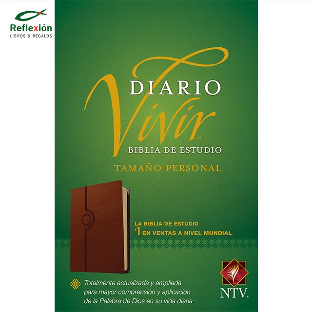 BIBLIA DIARIO VIVIR NTV PERSONAL PIEL