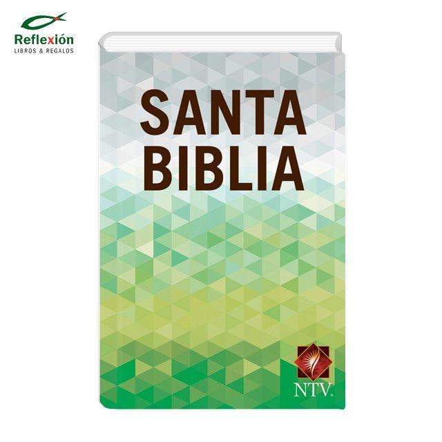 BIBLIA NTV EDICION SEMILLA TIERRA FERTIL COLOR VERDE