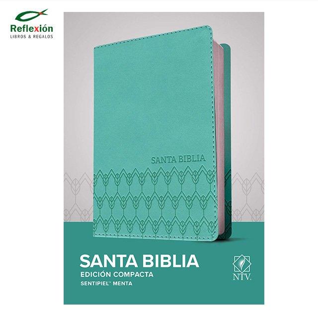 BIBLIA NTV COMPACTA SENTIPIEL MENTA