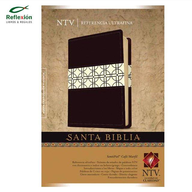 BIBLIA NTV T3 CAFE MARFIL