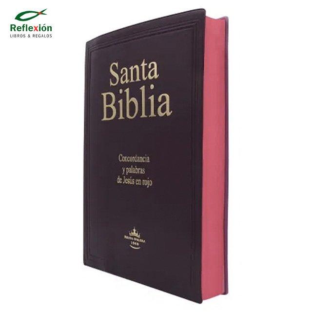 BIBLIA RVR60 HOLMAN COMP LETRA GRANDE/TELA AZUL