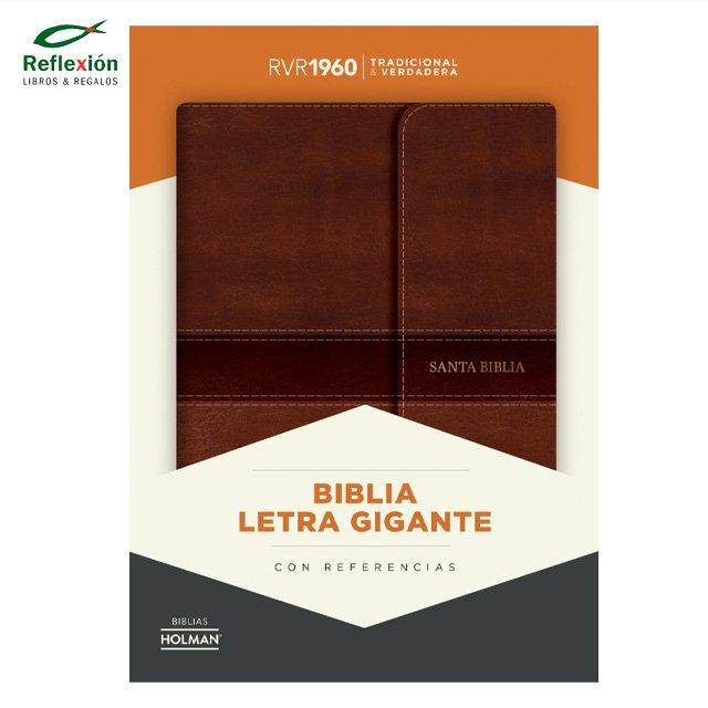 BIBLIA RVR60 HOLMAN/LETRA GRANDE MANUAL