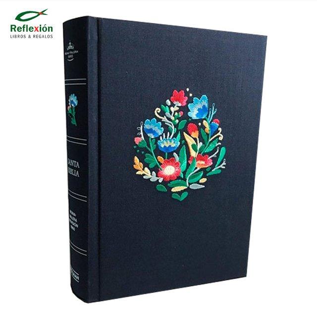 BIBLIA RVR60 HOLMAN/SUPER GIGANTE/BORDADO