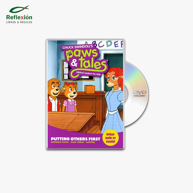 PAWS & TALES PUTTING OTHER FIRST 4 DVD