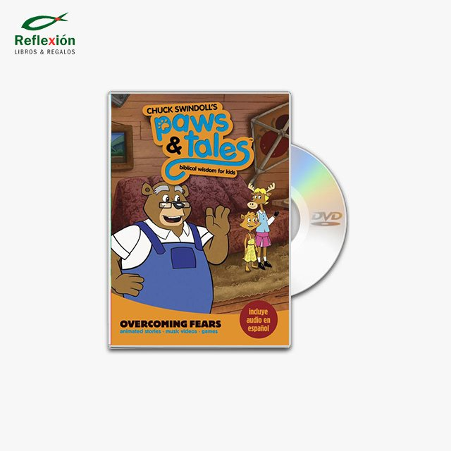 PAWS & TALES OVERCOMING FEARS 02 DVD