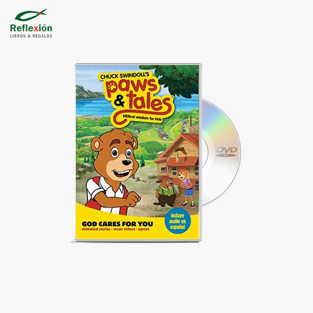 PAWS & TALES GOD CARES FOR YOU 1 DVD
