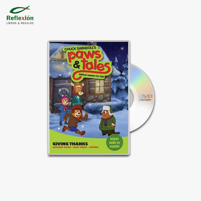 PAWS & TALES GIVING THANKS 5 DVD