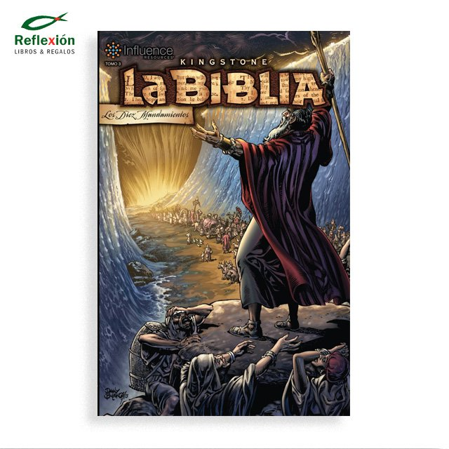 LA BIBLIA KINGSTONE TOMO 3 LOS 10 MANDAMIENTOS